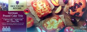 ALDI, German Pound Cake Trio, food, review