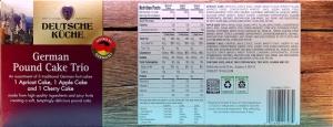 ALDI, German Pound Cake Trio, food, review, nutrition