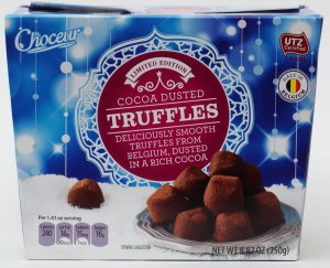 aldi, choceur, chocolate, truffles, review