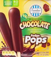 ALDI, chocolate fudge pops, review, low sugar