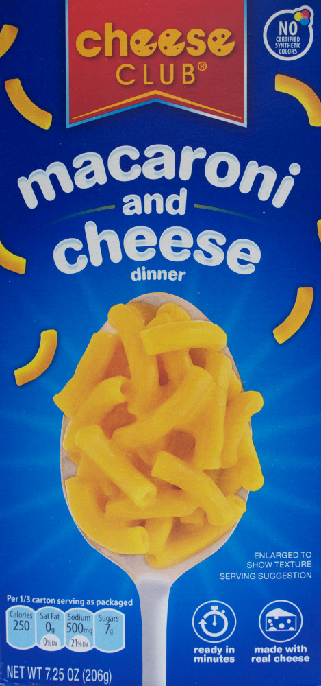 ALDI – Cheese Club vs  Kraft – macaroni and cheese – Food Review