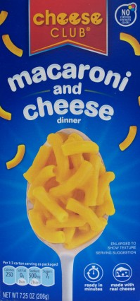 ALDI, mac and cheese, review, price, cheese club