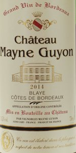 trader joes, wine, review, bordeaux, 2014, chateau mayne guyon