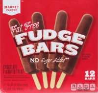 Target, chocolate fudge pops, review, low sugar