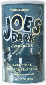 Trader Joe, joe's dark coffee, whole bean, review, dark roast