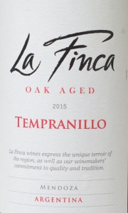 Trader Joe, La Finca, temranillo, red wine, Argentina, review, mendoza, 2015