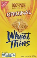 wheat thins, nabisco, crackers, review, price, calories