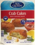 ALDI, Sea Queen, Crab Cakes, price, review, calories, nutrition