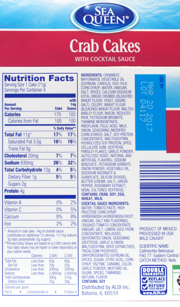 Nutrition News Crab Meat Nutrition Facts