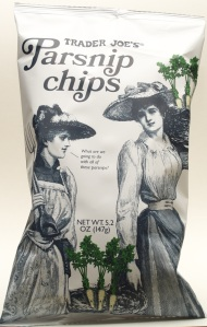 trader joe, review, parsnip chips, price