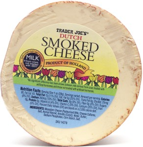 Trader Joe, Dutch smoked Gouda cheese, review, price, nutrition