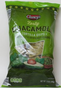 ALDI, Clancy's, Guacamole Tortilla Chips, Nutrition, Review, Calories, Price