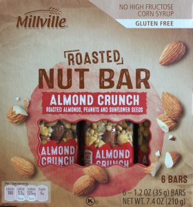 ALDI, Roasted Nut Bar, Nutrition, Review, Calories, Price, Snack