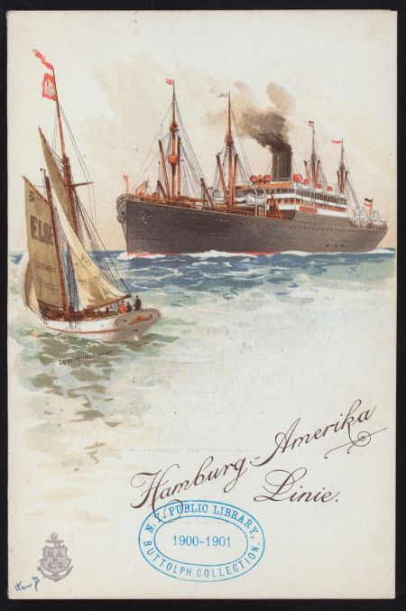 wpc, heritage, ss graf waldersee, immigration