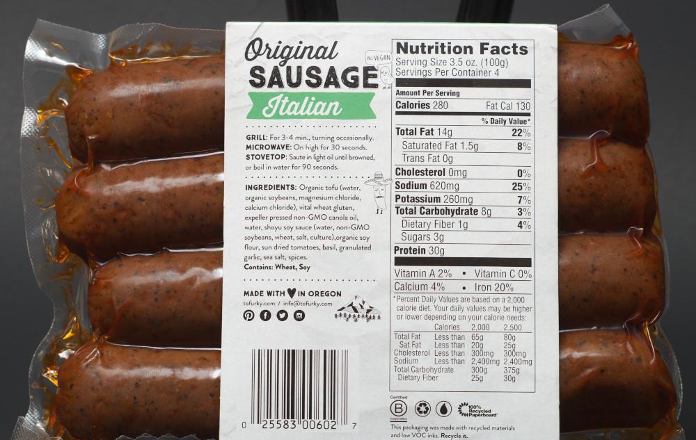 Italian Turkey Sausage forecasting