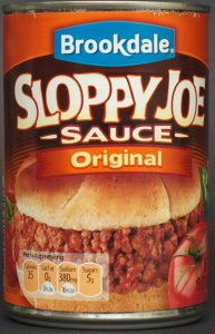 aldi, bookdale, sloppy joe sauce, review, nutrition, calories, price
