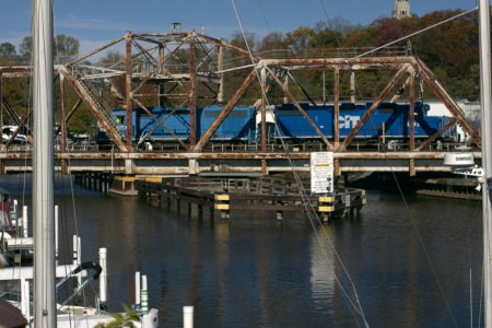 wpc, bridge, train, water