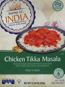 aldi, chicken tikka masala, food, review, price, calories, nutrition