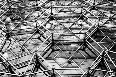 textural, wpc, monochrome, geodesic dome