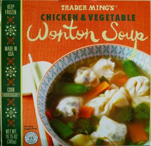 trader joe, wonton soup, price, calories, nutrition, review, chicken, vegetable
