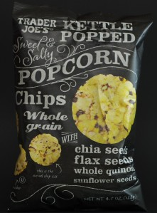 trader joe's, snack, popcorn chips, review, price, nutrition, calories