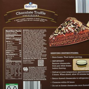 aldi, Chocolate Truffle Cheesecake, Belmont, food, review, price, calories, nutrition