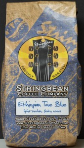 whole bean coffee, review, price, Ethiopian, True Blue, review, Sting Brean Coffee Company