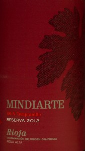 Trader Joe's, red wine, review, price, mindiarte, rioja, 2012