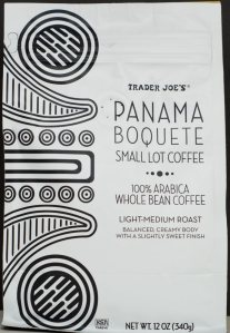 trader joe's, panama boquete whole bean coffee, review, price,