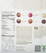 aldi, food, review, price, calories, nutrition, moser roth, chocolate truffles
