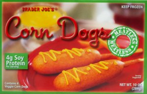 trader joe, review, price, calories, nutrition, veggie corn dogs