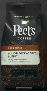 Peets, whole bean coffee, major dickasons, review, price
