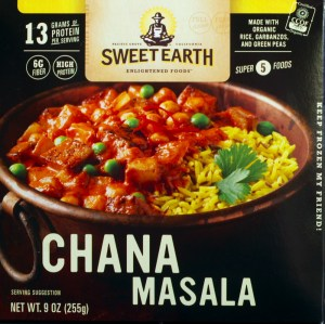 sweet earth, chana masala, review, price, calories, nutrition, target