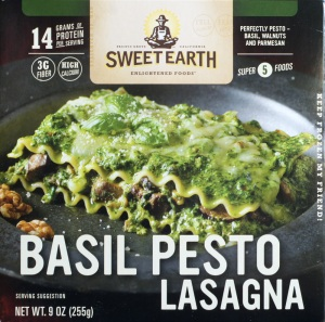 Target, Sweet Earth, Basil Pesto Lasagana, review, price, nutrition, calories