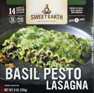 Target, Sweet Earth, Basil Pesto Lasagana, review, price, nutrition, calories