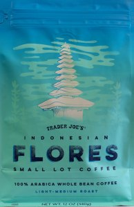 Trader Joe's, indonesian flores coffee, review, price, whole bean, light-medium roast