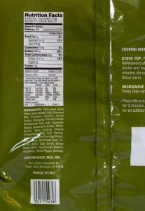 Trader Joe, Spelt Risotto, price, nutrition, review, calories