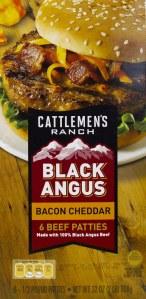 aldi, review, price, calories, nutrition, black angus, bacon cheddar beef patties
