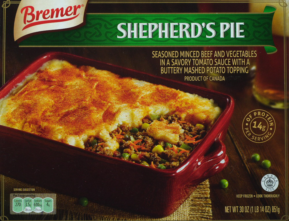 Aldi Bremer Shepherd S Pie Food Review Ain T Found A Good Title Blog