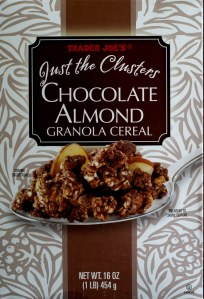Trader Joe, cereal, Chocolate Almond Granola Cereal, calories, price, nutrition, review