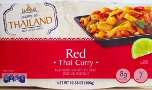 ALDI, thai red curry, price, review, calories, nutrition