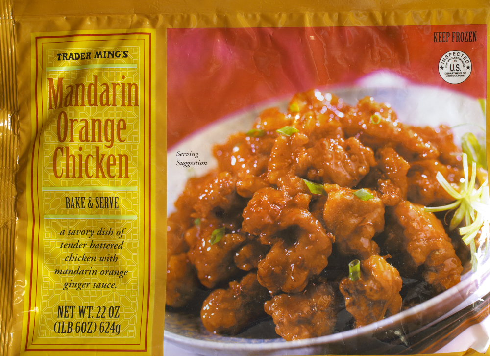 Trader Joes Mandarin Orange Chicken Food Review Aint Found A
