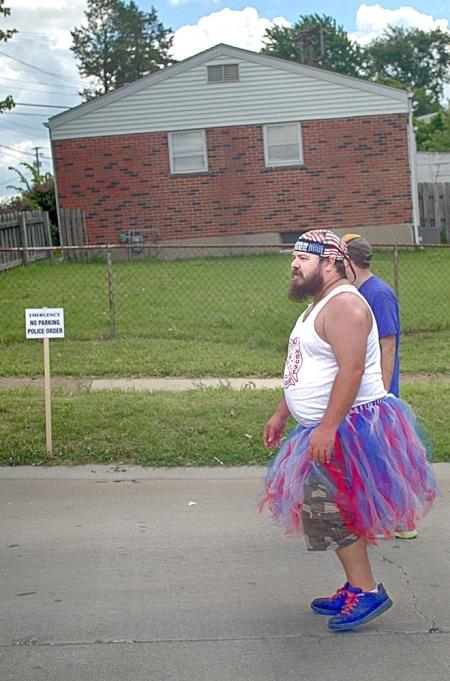 July 4, parade, local, dance team dad